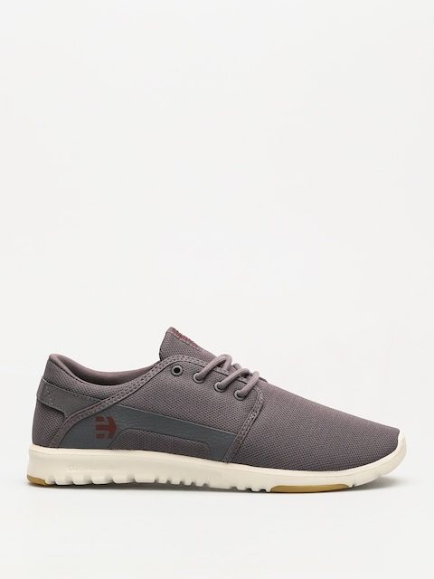 Etnies Shoes Scout (dark grey/red)