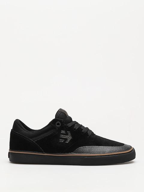 Etnies Shoes Marana Vulc (black/dark grey/gum)