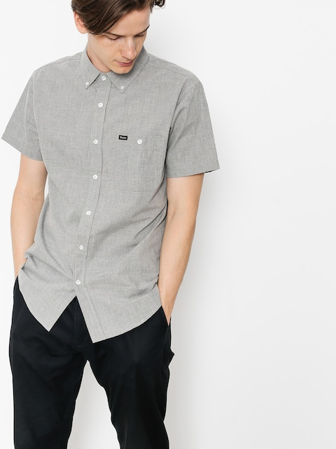 Brixton Shirt Central Wvn (heather grey)