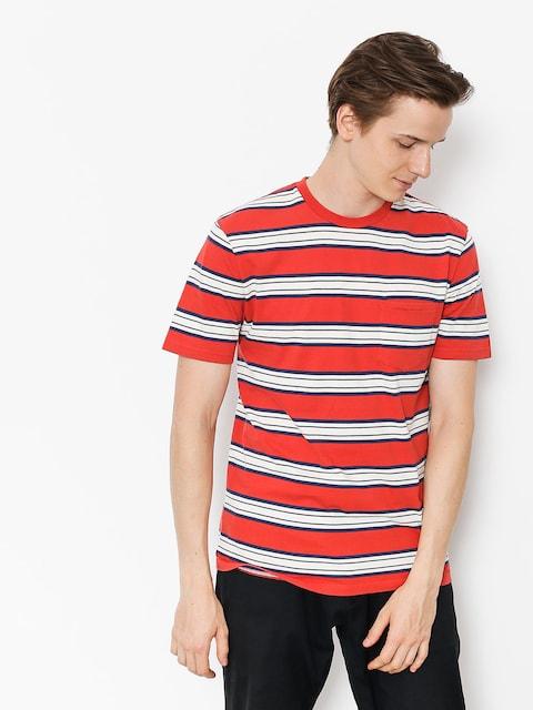 Brixton T-Shirt Hilt Wshd Pkt (red)