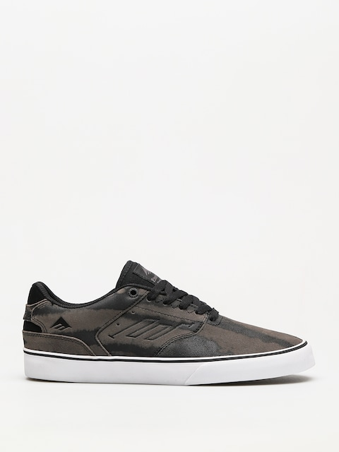 Emerica Shoes The Reynolds Low Vulc (grey/grey/black)