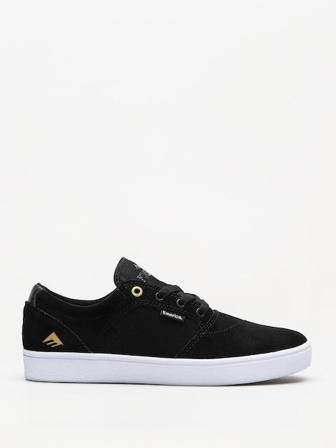 Emerica Schuhe Figgy Dose (black/white/gold)