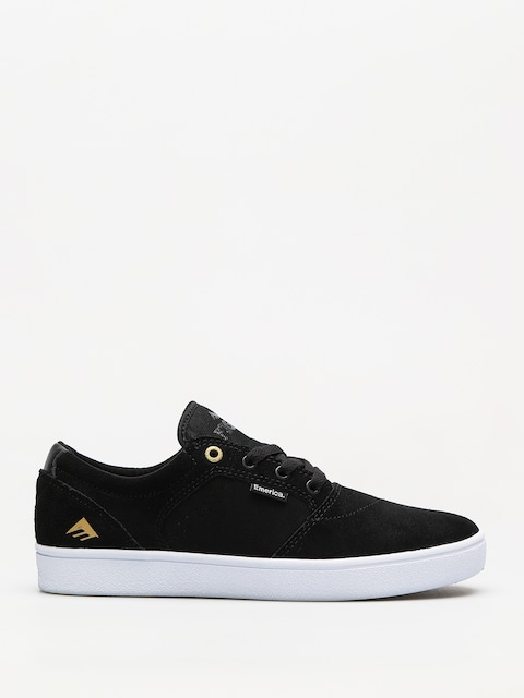 Emerica Shoes Figgy Dose (black/white/gold)