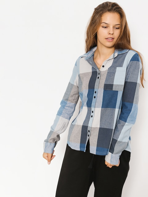Roxy Shirt Concretestreetc Wmn (dress blues square p)