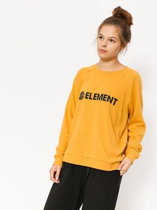 Element Sweatshirt Tree Logo Crew Wmn (gold)