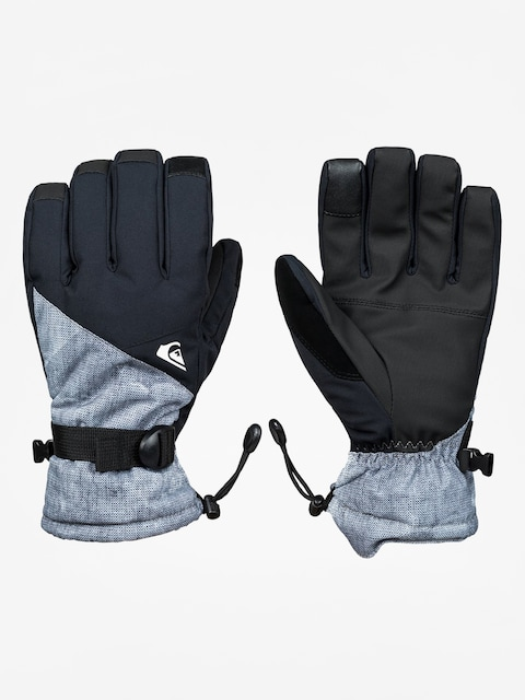 Quiksilver Gloves Mission Glove (simple texture grey)