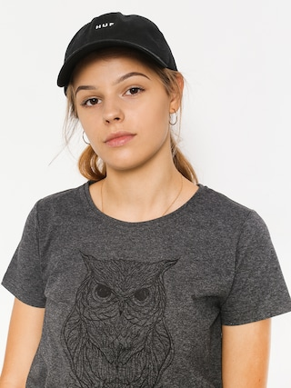Majesty T-Shirt Owl Lady Wmn (graphite)
