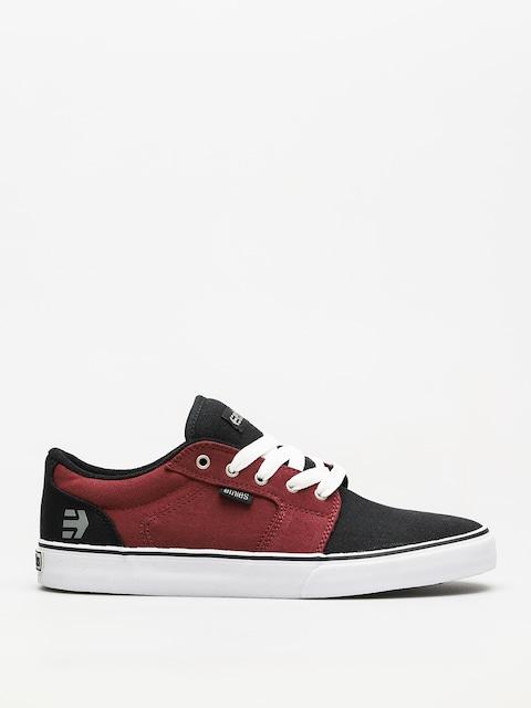 Etnies Schuhe Barge Ls (black/white/burgundy)