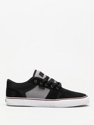Etnies Shoes Barge Ls (black/dark grey/silver)