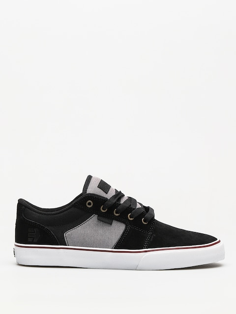 Etnies Shoes Barge Ls (black/dark grey/silver)