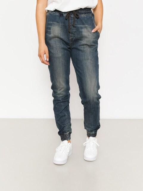 Diamante Wear Hose Rm Jogger Wmn (paint jeans)