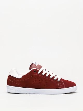 Etnies Shoes Callicut Ls (burgundy/white)