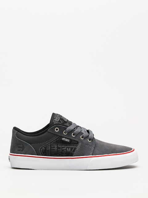 Etnies Shoes Metal Mulisha Barge Ls (grey/black/white)