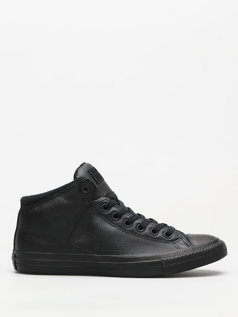 Converse Chucks Chuck Taylor All Star High Street Hi (black/black/black)