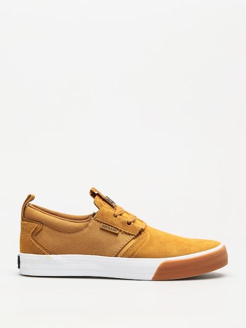 Supra Schuhe Flow (tan/white gum)