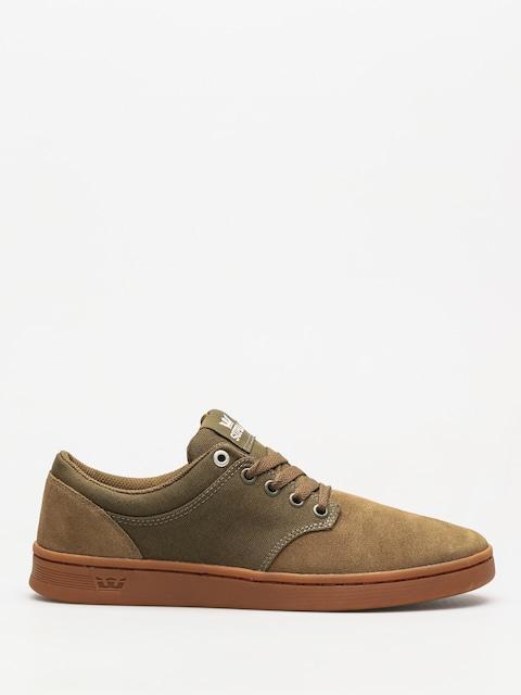 Supra Schuhe Chino Court (olive gum)