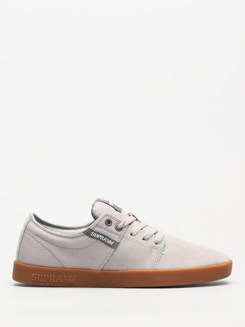 Supra Schuhe Stacks II (lt grey/grey gum)