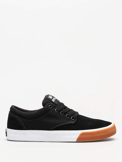 Supra Schuhe Chino (black/white gum)