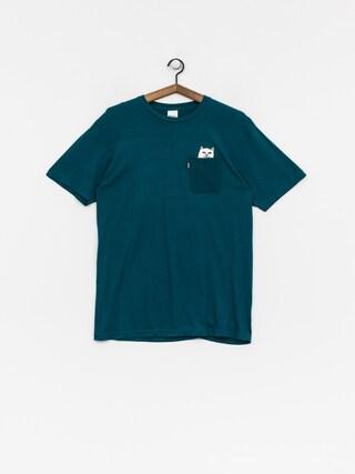 RipNDip T-shirt Lord Nermal Pocket (aqua)