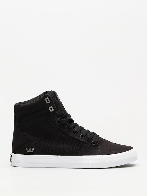 Supra Shoes Aluminum (black white)