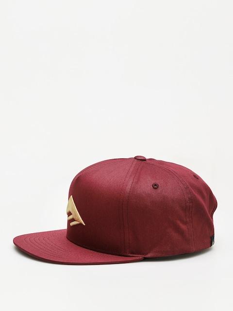 Emerica Cap Triangle Snapback ZD (burgundy)