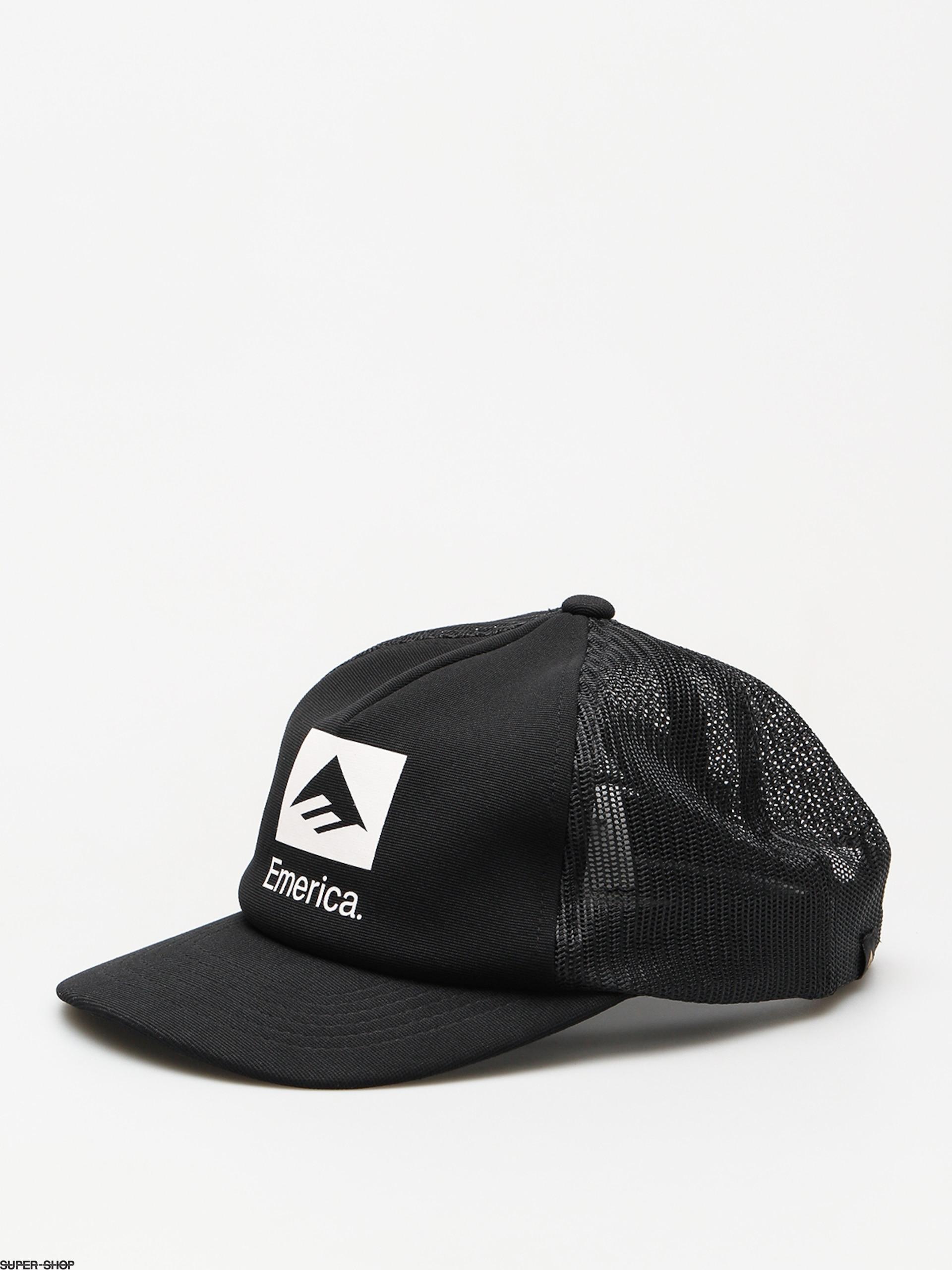 a624cfd4 Emerica Cap Brand Combo Trucker ZD (black)