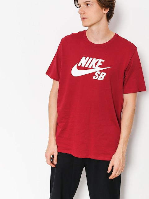 Nike SB T-shirt Sb Logo (red crush/white)