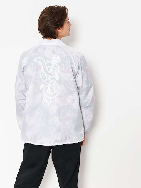 Real Jacket Bloom Windbrk (white/floral)