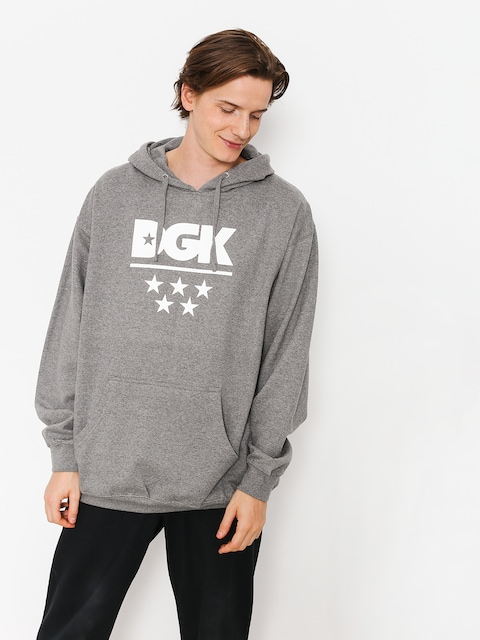 DGK Hoodie All Star HD (gunmetal)