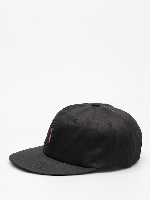 Diamond Supply Co. Cap Fasten Unstructured 6 Pan Stra ZD (black)