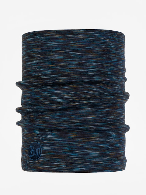 Buff Neckwarmer Hw Merino Wool (denim multi stripes)