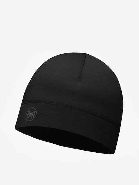 Buff Beanie Thermonet (solid black)