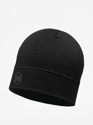 Buff Beanie Lw Merino Wool (solid black)