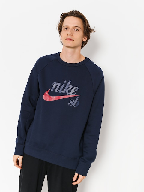 Nike SB Sweatshirt Sb Icon (obsidian/red crush)
