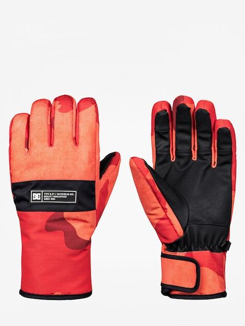 DC Handschuhe Franchise Glove (red orange dcu camo)