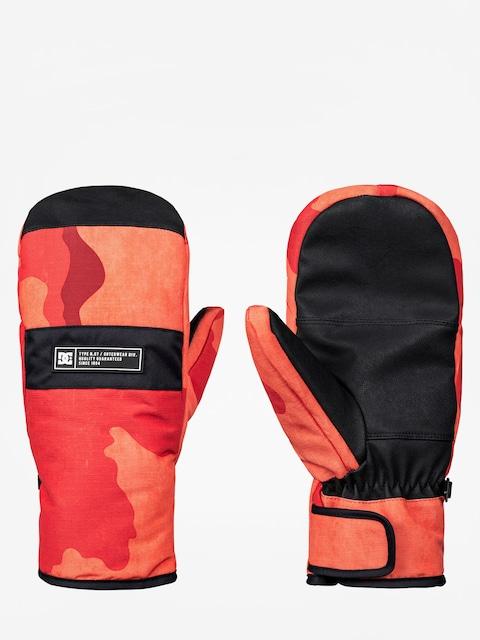 DC Handschuhe Franchise Mitt (red orange dcu camo)