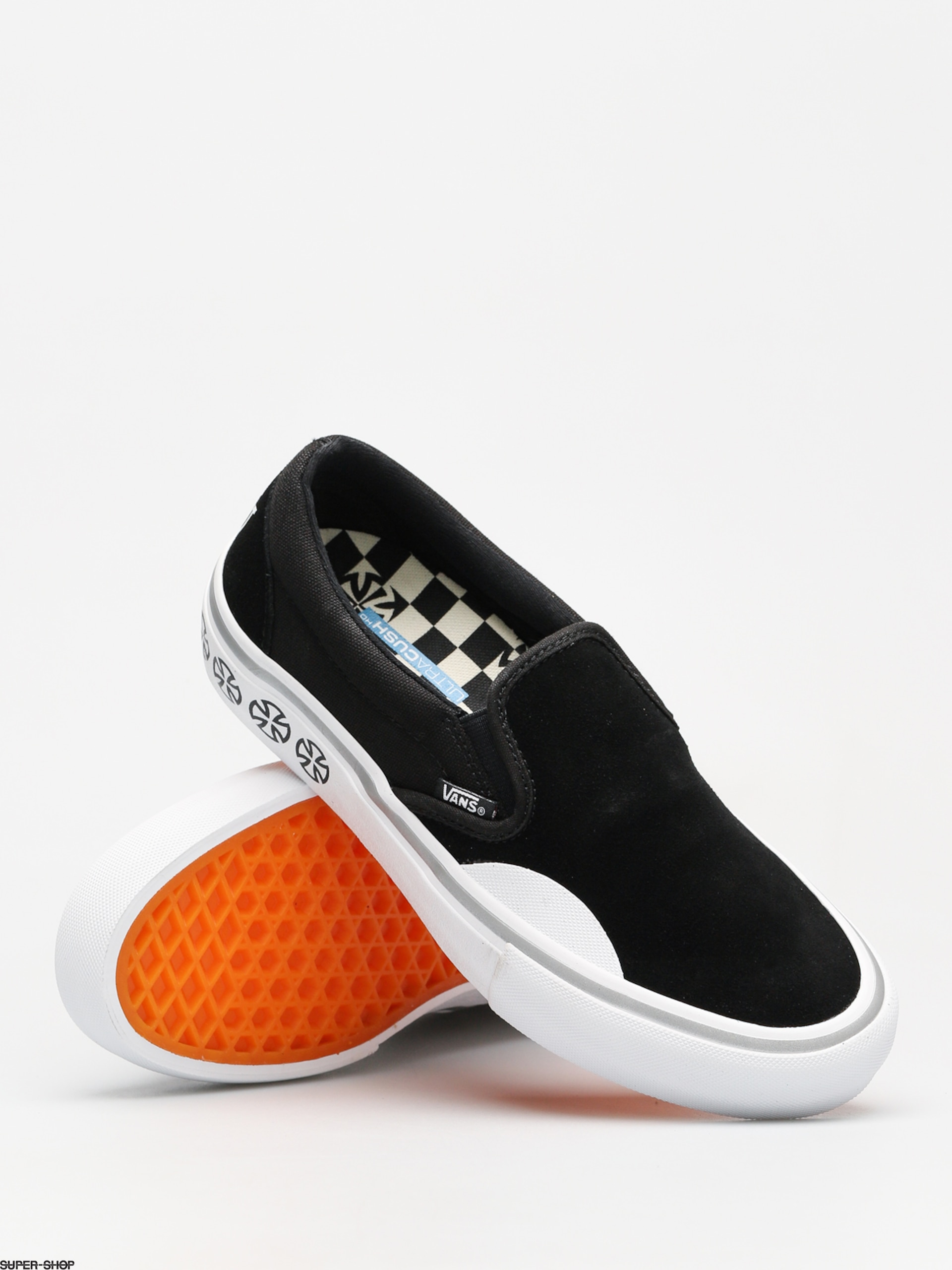 Vans x Independent Shoes Slip On Pro (independent black white) 4df2e27cd