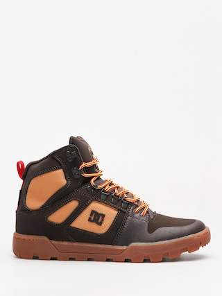 DC Winter shoes Pure High Top Wr Boot (chocolate brown)