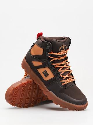 DC Winter shoes Pure High Top Wr Boot (chocolate brown) 36ee68c0e7