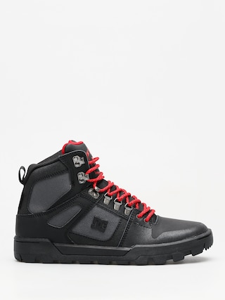 DC Winter shoes Pure High Top Wr Boot (black/grey/red)