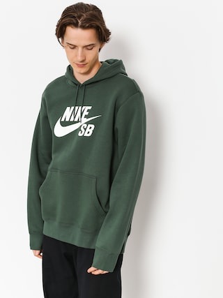 Nike SB Hoodie Sb Icon HD (midnight green/white)