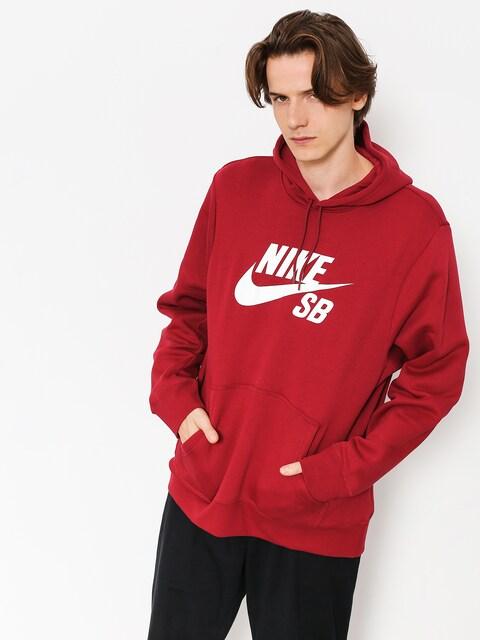 Nike SB Hoody Sb Icon HD (red crush/white)