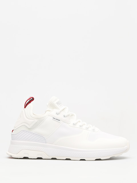 Palladium Shoes Ax_Eon Army Runner Amphibian (star white/white)