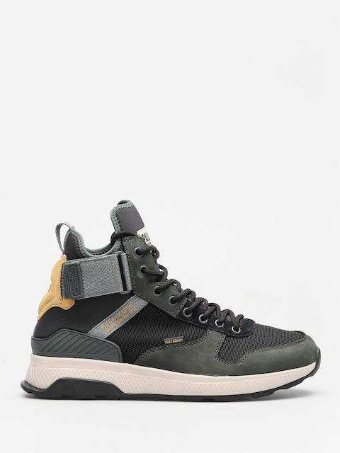 Palladium Shoes Ax_Eon Army Runner Mid (urban chic/anthrct/amb gd)