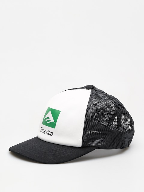 Emerica Cap Brand Combo Trucker ZD (white/black)