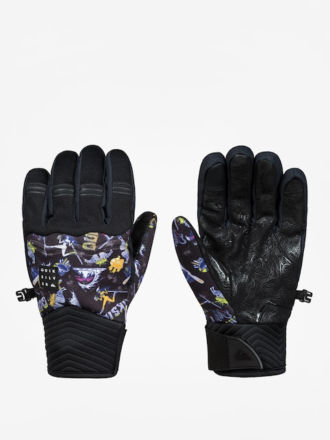 Quiksilver Gloves Method Glove (a day at mtn glo blk)