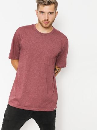 Element T-Shirt Basic Pocket Cr (oxblood heather)
