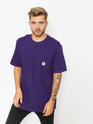 Element T-shirt Basic Pocket Label (purple)