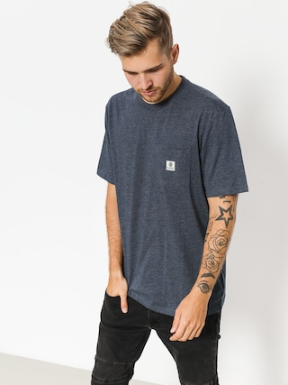 Element T-shirt Basic Pocket Label (indigo heather)