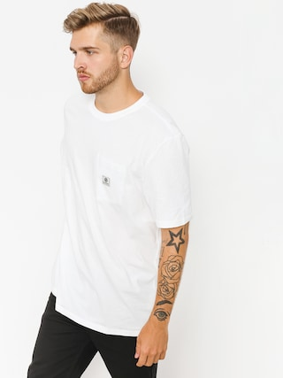 Element T-shirt Basic Pocket Label (optic white)